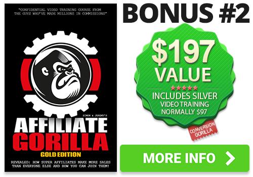 Affiliate Gorilla Bonus